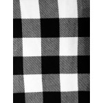 Choose Your Fabric:: Black/White Flannel