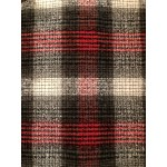 Choose Your Fabric:: Black/Red Flannel