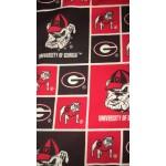 Choose Your Fabric:: Georgia Bulldogs