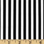 Choose Your Fabric:: Black/White Stripe