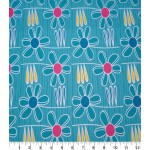 Choose Your Fabric:: Teal Garden