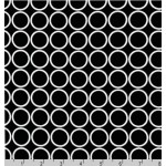 Choose Your Fabric:: Black Circles