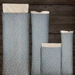 Choose Your Fabric:: Light Blue Stars